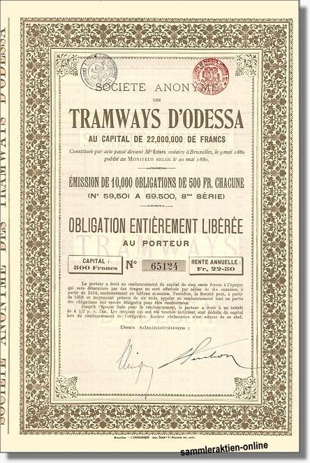 Tramways Odessa
