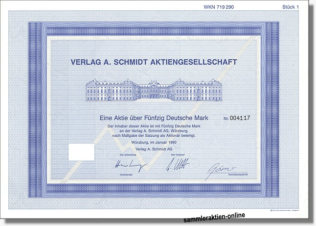 Verlag A. Schmidt AG