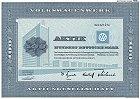 Volkswagen 1961 - Sammleraktien von Joachim Hahn