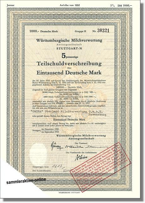 Württembergische Milchverwertung AG